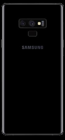 Samsung Galaxy Note 9 128 GB Negro  Trasera
