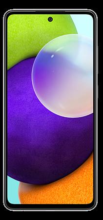 Samsung Galaxy A52 128 GB Negro Frontal