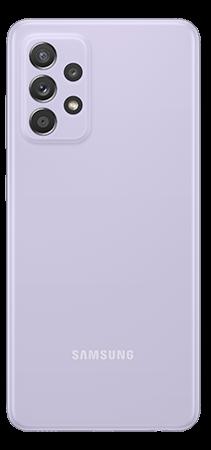 Samsung Galaxy A52 128 GB Violeta Trasera