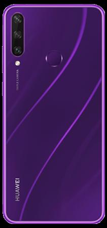 Huawei Y6 P 64 GB Morado Trasera