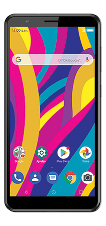 ZTE Blade A31 32 GB Gris Frontal