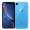 Iphone XR 64 GB azul Front/Back